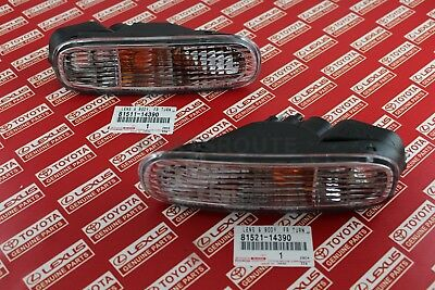Toyota Supra JZA80 Turn Signal Lights Lamps Front Bumper OEM Genuine Left Right
