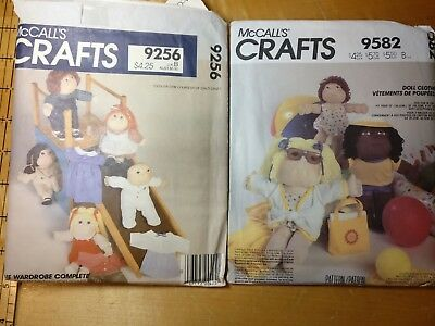 VINTAGE MCCALLS CRAFTS Patterns 60 60 Cabbage Patch Size Dolls Beauteous Mccalls Craft Patterns