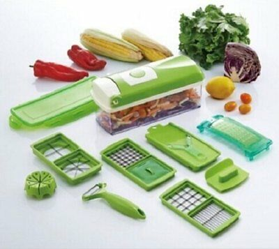 Super Slicer with 12 PCS Fruit Vegetable Peeler Chopper Grater