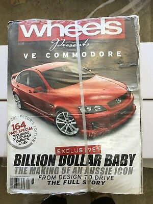 VE Commodore Wheels magazine Unopened 20 Pack Collectors Edition *RARE*