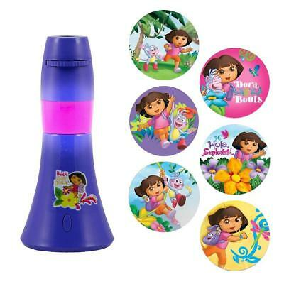 Nickelodeon's Dora the Explorer Projectables LED Night Light -Purple/Pink ^x