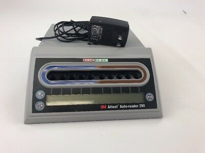 3M Attest Auto-reader 390 with Power Supply  Very Good Condition