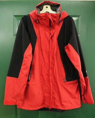 The North Face GORE-TEX Men's Ski Jacket  size L Red and Black w/o Liner