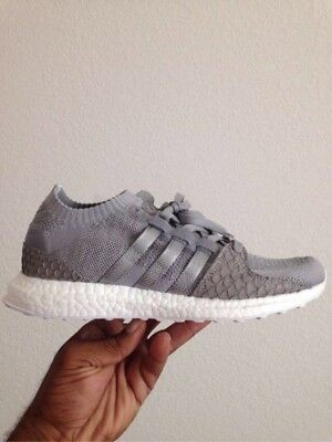 KING PUSH EQT Support Ultra PK Greyscale Adidas x Pusha T Gray White ... f4bcefa9b5