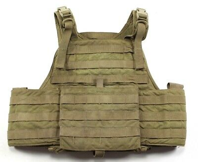 Eagle Industries SFLCS MBAV Small/Medium MJK Khaki Tan Plate Carrier Vest S/M