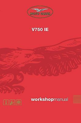 Moto Guzzi workshop service manual 2003 BREVA 750