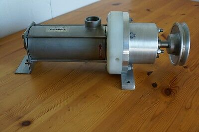 MONO / PROGRESSIVE CAVITY PUMP  25 mm FM154  SYDEX Italy ALL S/STEEL MODEL