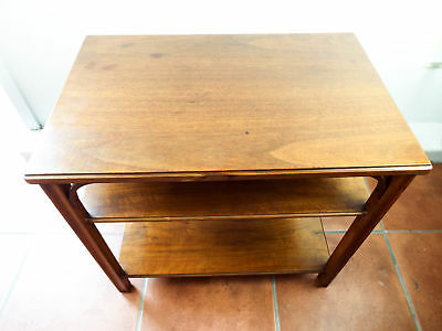 Vintage 1920u0027s Wooden Grand Rapids GRM Coffee End Table Mahogany Wood  Furniture