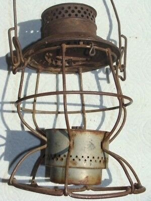 "The ""ADLAKE"" GREAT NORTHERN Railway Lantern Vintage Antique GN Railroad"