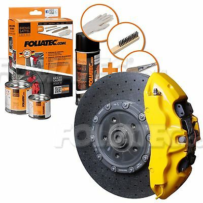 Painting Brake Caliper High Temperature 300 °C Foliatec Ft2161 Yellow Ferrari
