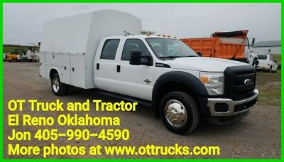 2011 Ford F-550 F550 2wd 8ft KUV Service Utility Bed 6.7L