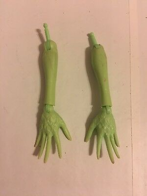 Monster High Doll Venus Mcflytrap Hands And Arms Replacement Parts Lot