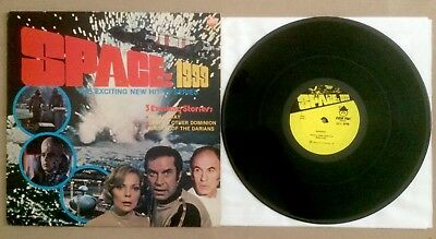 'Space 1999' TV soundtrack LP (1975) Gerry Anderson