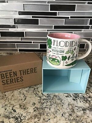 Starbucks Been There Series Florida Collectible Mug New In Box