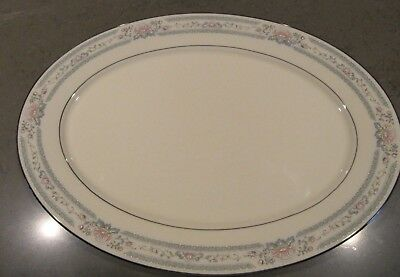 "One (1) Lenox ~ CHARLESTON ~ Large 16"" Oval Serving Platter 16"" x 11-5/8"""