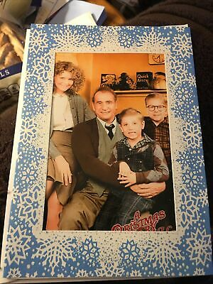 a christmas story photo greeting christmas card parker family old man ralphie