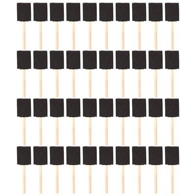 2 inch Foam Sponge Wood Handle Paint Brush Set (Value Pack of 40) - Lightwe F5A8