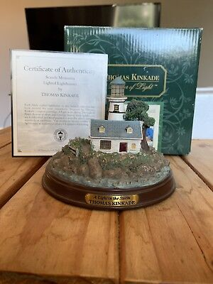 Thomas Kinkade A Light In The Storm Sculpture