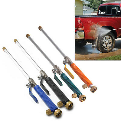 High Pressure Washer Power Spray Nozzle Water Jet Hose Wand Attachment for Car