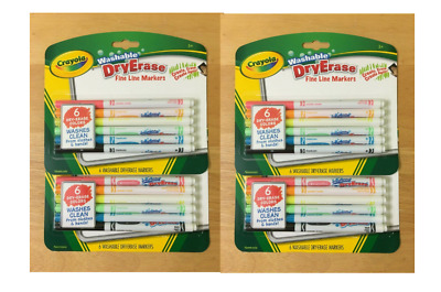 crayola washable markers fine tip classic assorted colors 10 count