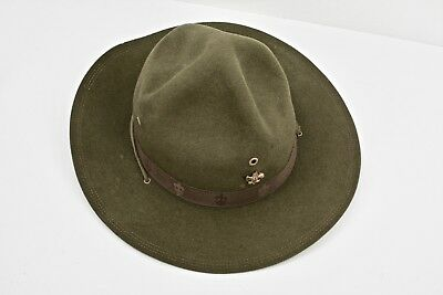 BSA Scout Master's Wide Brim Campaign Hat Early 1900s Sigmund Eisner Outfitter