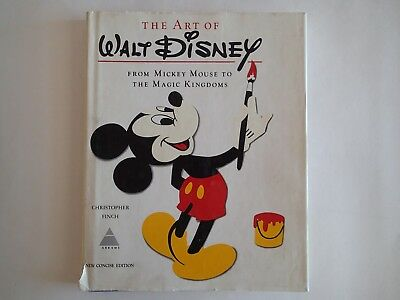 THE ART OF WALT DISNEY, From Mickey Mouse to the Magic Kingdoms BOOK, Animation