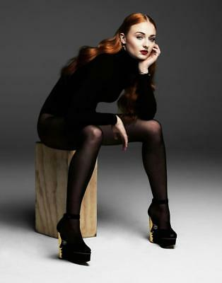GLOSSY PHOTO PICTURE 8x10 Sophie Turner Cover Photo