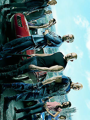 GLOSSY PHOTO PICTURE 8x10 Fast and Furious 6 The Family