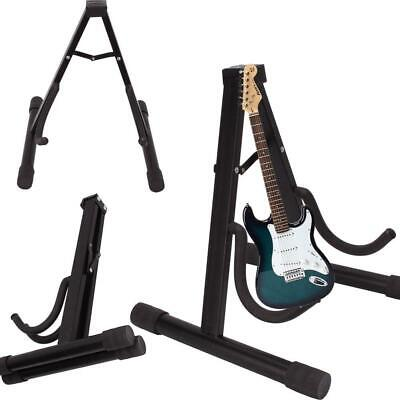 Universal Portable Adjustable A-Frame Electric Guitar Floor Stand Holder
