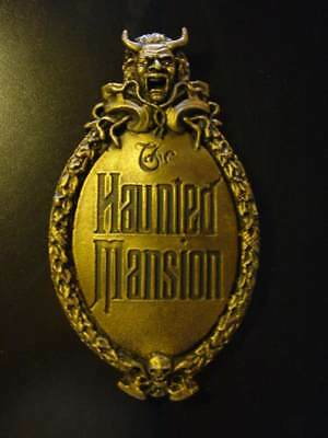 New Haunted Mansion Gate Plaque Sign Decor