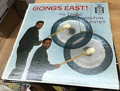 Lot of Rare Chico Hamilton Trio Quintet Piano of Freddie Gambell Gongs East RARE