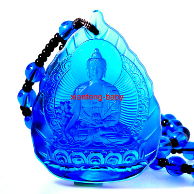 Buddha Pendant  Medicine Statue Necklace Amulet Blessed Glass Buy 2 Get 1 Free