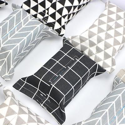 Car Fabrics Tissue Container Napkin Papers Holder Home Box Case 2018