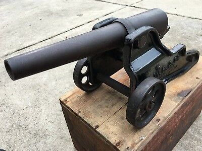"Original Working 1903-1908 10 Gauge Winchester Signal Cannon, 1"" Muzzle OD"