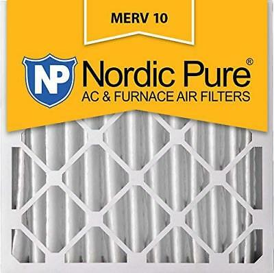 Nordic Pure 24x36x1 Exact MERV 12 Pleated AC Furnace Air Filters 4 Pack