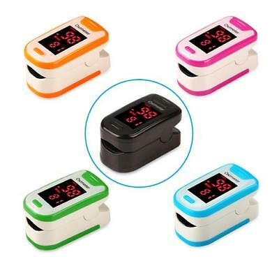 Fingertip Health Monitor Oxygen 1 Pcs Pulse Blood Heart Rate Meter Finger