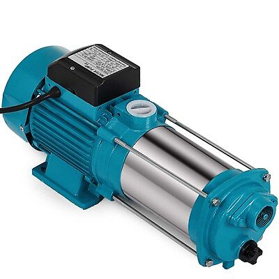 1300W electric multistage centrifugal booster water PUMP 1.7HP 100L/min Garden