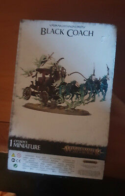 Nighthaunt Black Coach Games Workshop Warhammer Age of Sigmar Death Kutsche