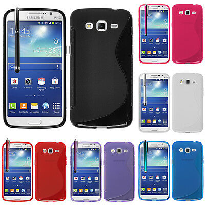 Protective Cover for Samsung Galaxy Grand 2 SM-G7106 TPU Silicone Flip Case