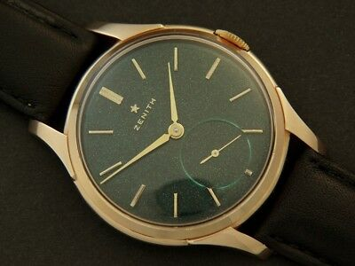 Zenith GOLD STAR manual BIG SIZE caliber 40 vintage SWISS MADE watch ART DECO