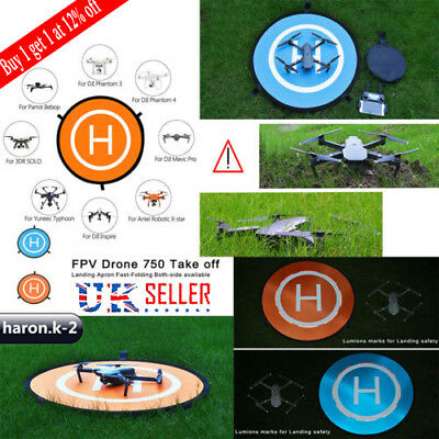 Drone Helipad Landing Launch Nylon Pad 3 Size For DJI Mavic 2 Pro/Zoom Drone UK