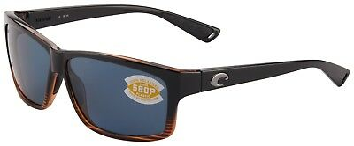 8c464fbde8a4 Costa Del Mar Cut Sunglasses UT-52-OGP Coconut Fade 580P Grey Polarized Lens