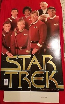 "Star Trek - The Movie 1993 Standee 20"" Tall"