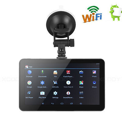 XGODY 730 7 inch GPS Navigation 16GB ROM Android 4.4 OS WIFI Real-Time Traffic