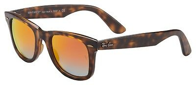 a21585996c Ray-Ban Wayfarer Ease Sunglasses RB4340 710 4W 50 Tortoise Orange Gradient  Flash