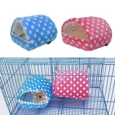 Soft Hamster House Bed Cage Mini Animal Mice Rat Guinea Pig Pet Bed Hamster