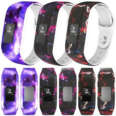 Soft Silicone Watch Strap Wristband Bracelet For Garmin Vivofit 3 & Vivofit Jr