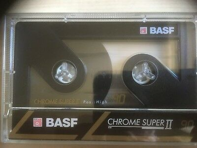 Basf Chrome Super Ii 90 Used Audio Cassettes In Perfect Shape 7 Pieces