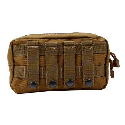 Tactical Molle Flashlight Military Bag Tool Pouch Climbing Storage Bag N7