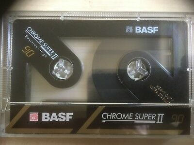 Basf Chrome Super Ii 90 Used Audio Cassettes In Perfect Shape 8 Pieces